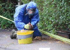Asbest vrijgekomen na brand in schuur: Wilhelminakade afgesloten (Video)